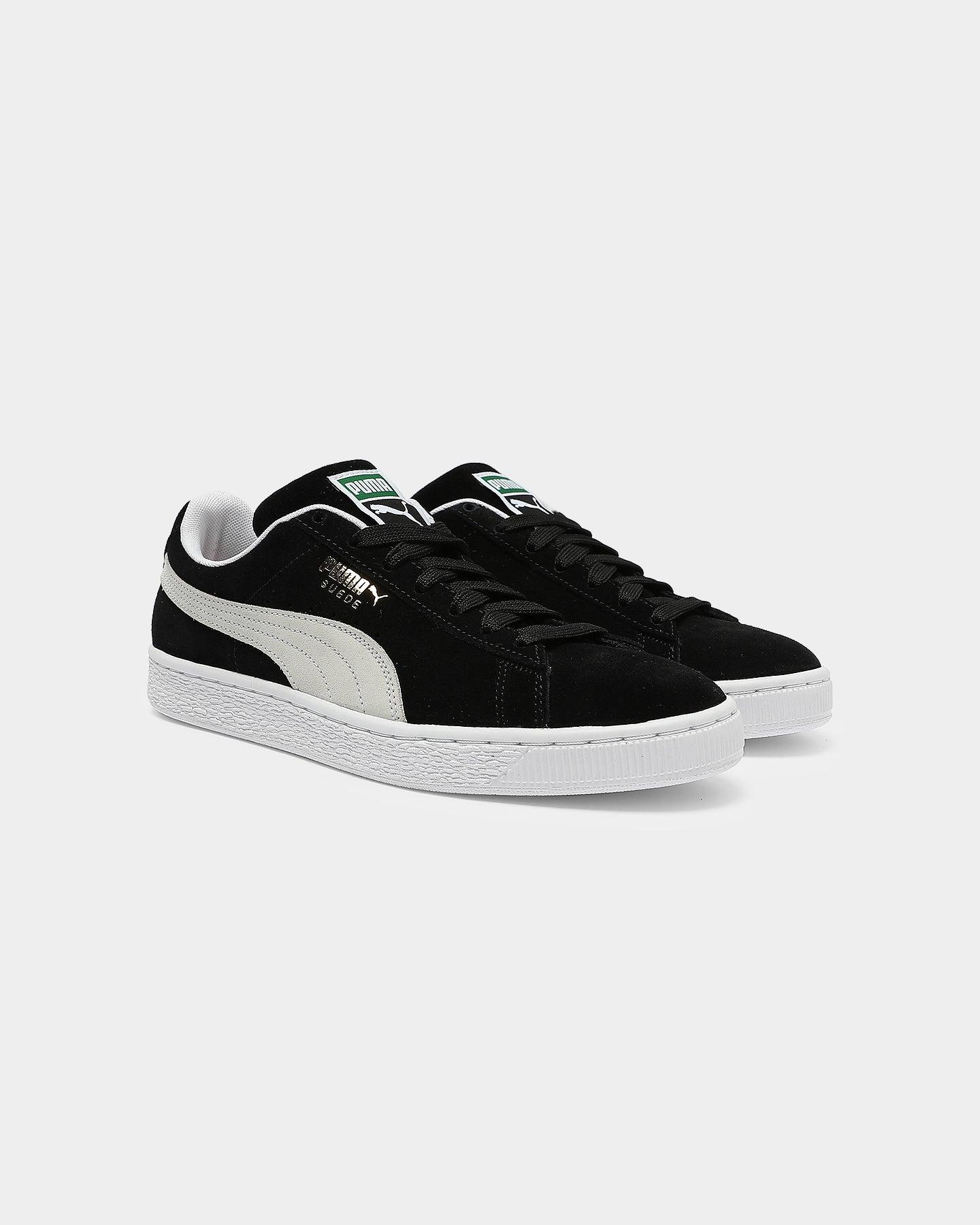 Puma Suede Classic + Black/White
