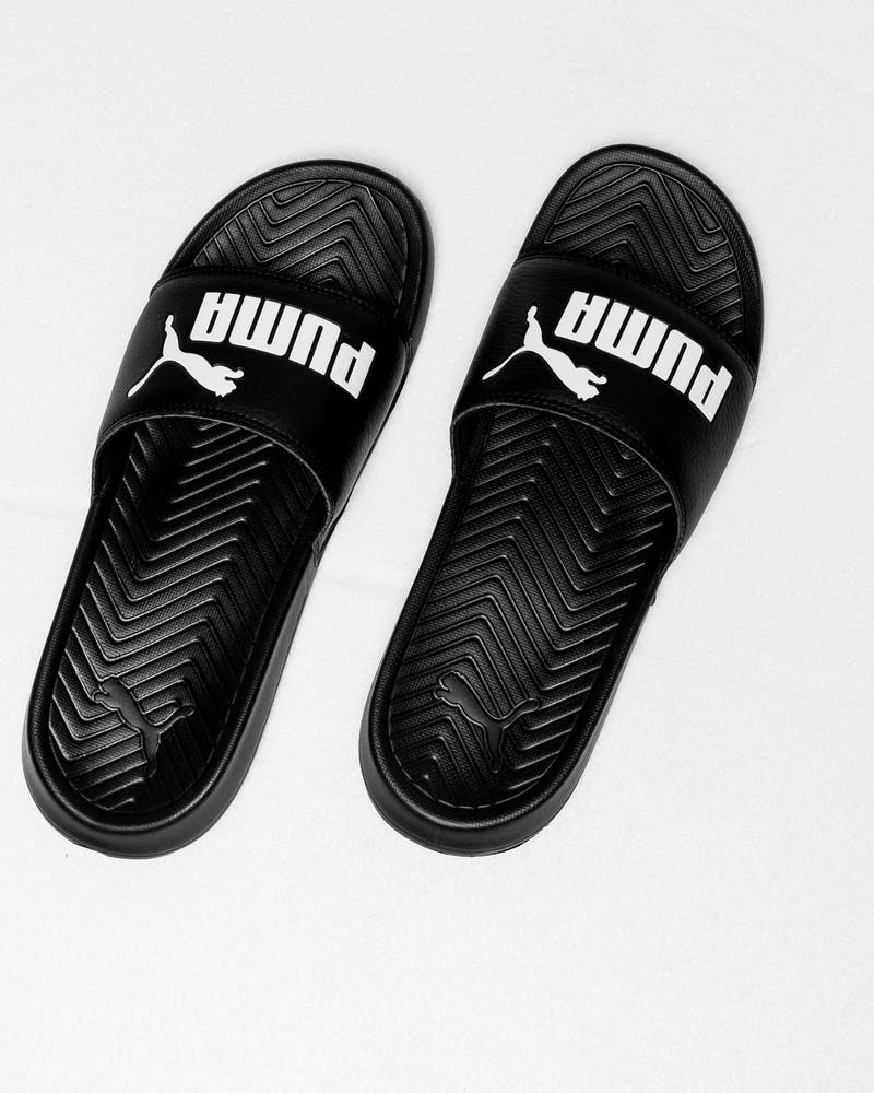 Puma Popcat Slide Black/White