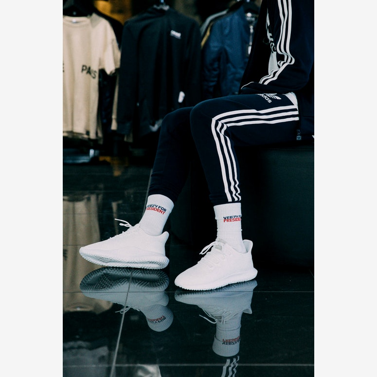 Adidas Originals CLFN Cuffed Track Pants Navy