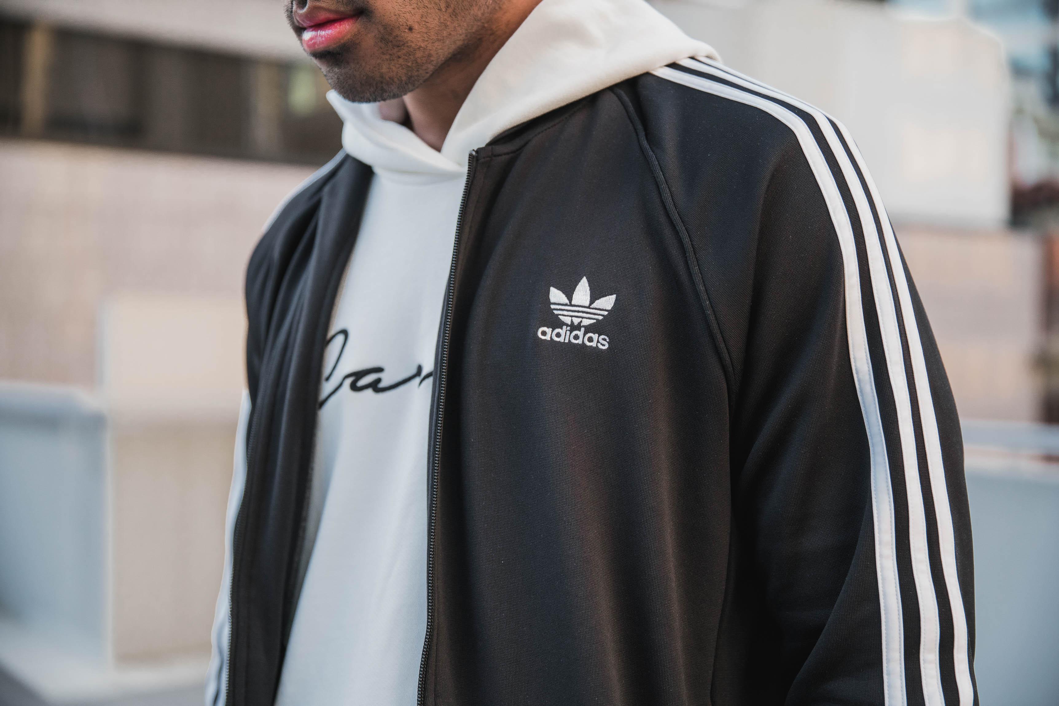 Adidas Originals ES SST TT Zip Jacket Black