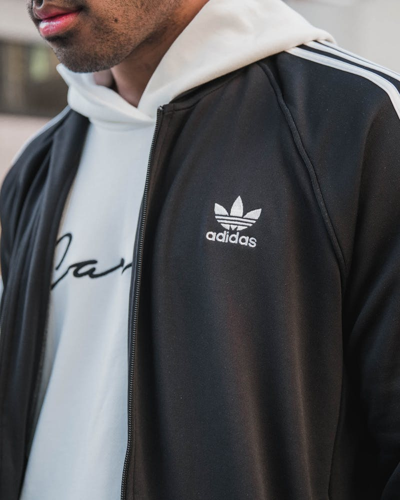Adidas Originals ES SST TT Zip Jacket Black