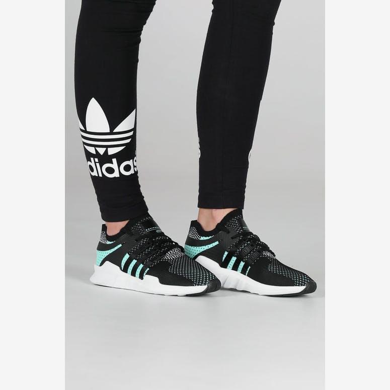 promo code 5c41e 9e61d Adidas Originals Womens EQT Support ADV Primeknit BlackWhite