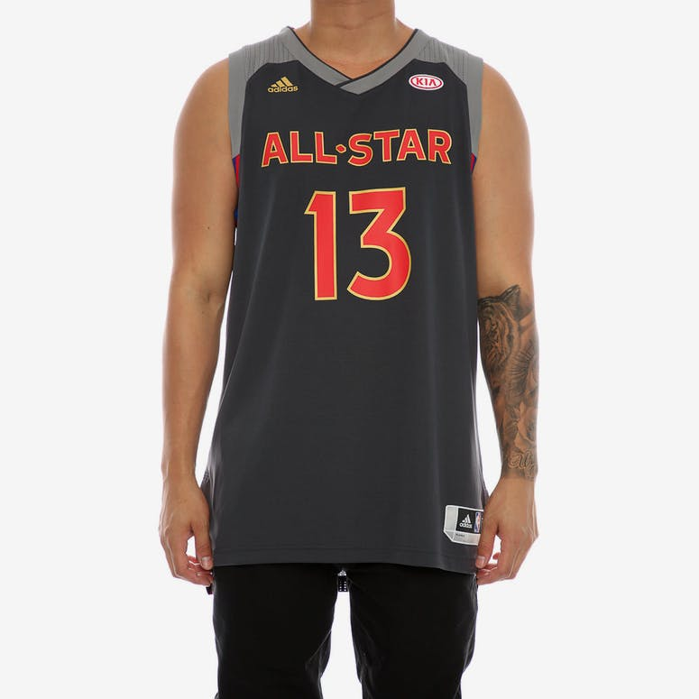 510cd0f9e Adidas Performance NBA All-Star Western Conference James Harden  13  Swingman  Jersey Black