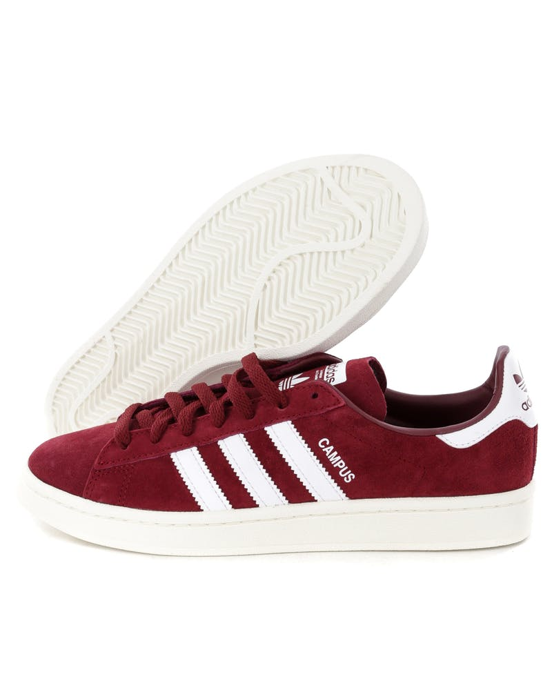 Adidas Campus Burgundy/White