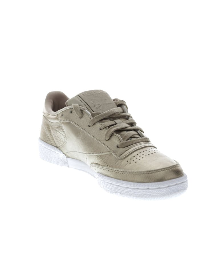Reebok Women's Club C 85 Melted Metal Metallic Grey/White