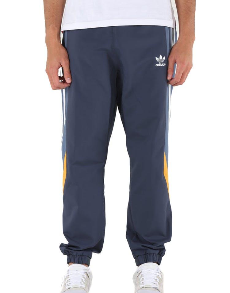 7827a098 Adidas Originals Blocked Nova Wind Pant Dark Blue/Mustard Trackpant ...
