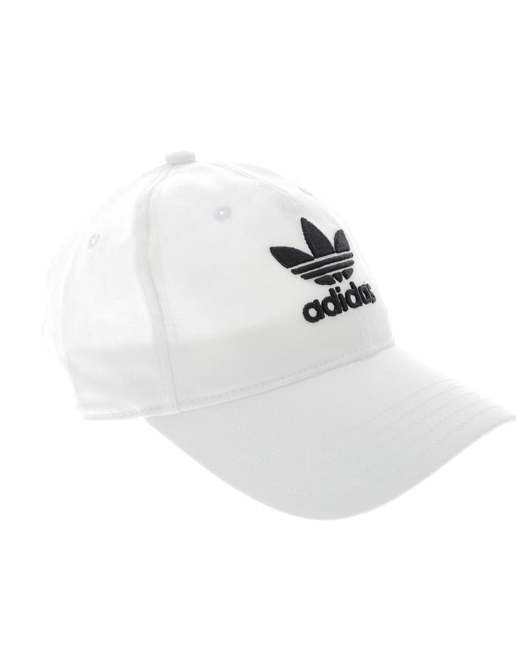 c8e692b3fbd Adidas Originals Women s Trefoil Cap White Black – Culture Kings NZ