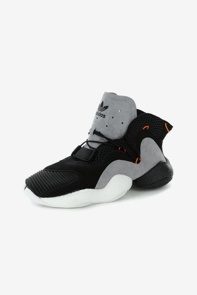 ADIDAS ORIGINALS CRAZY BYW LVL 1 SHOES Black/Orange