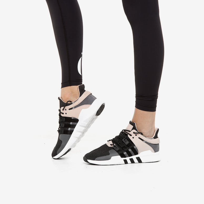 outlet store 3efbf e53aa Adidas Originals Womens EQT Support ADV BlackPinkWhite