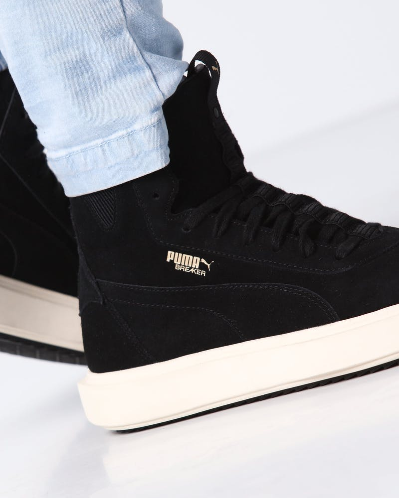 Puma Men's Breaker Hi Black/White