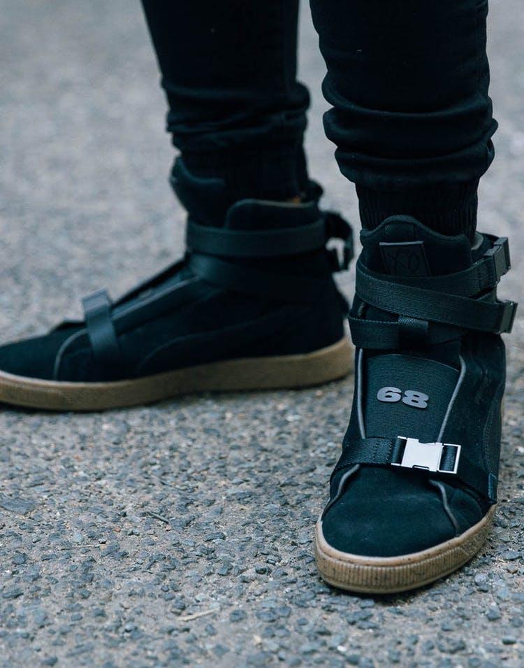 sale retailer e05fd e659a Puma Suede X The Weeknd Black