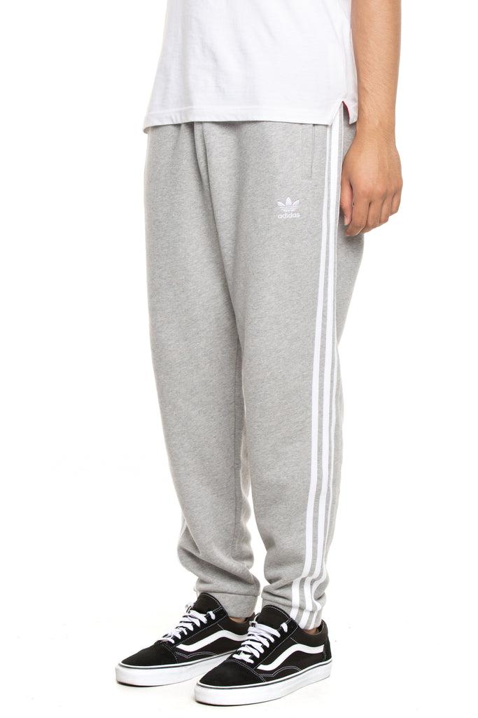 Adidas 3-Stripes Sweat Pants Grey Heather