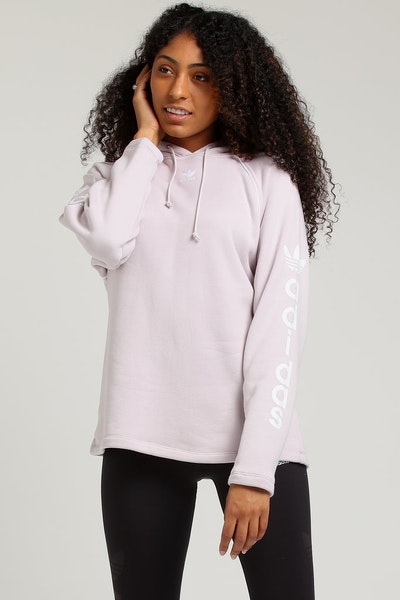 Adidas Women's Hoodie Light Purple