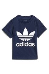 Adidas Infant Trefoil Tee Navy/White