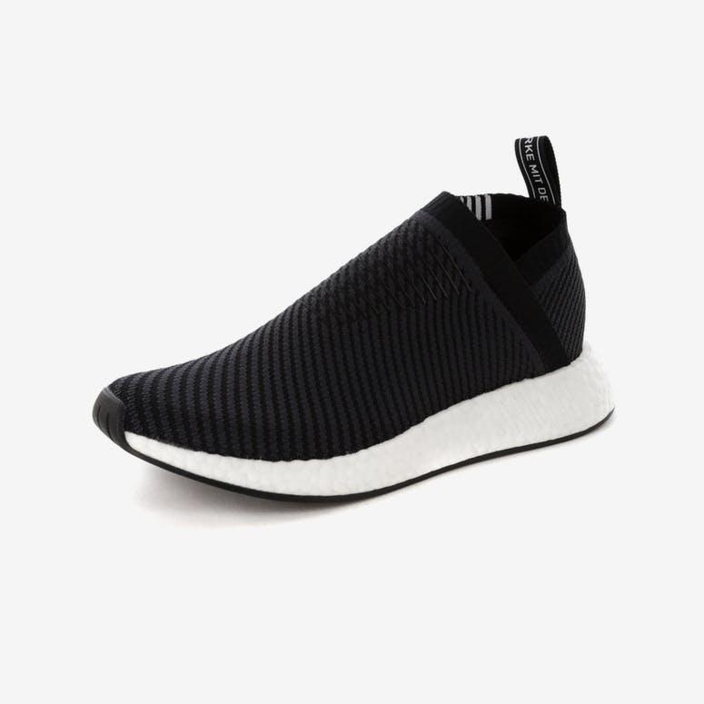 d0f2b45e5352 Adidas NMD CS2 Primeknit Black White