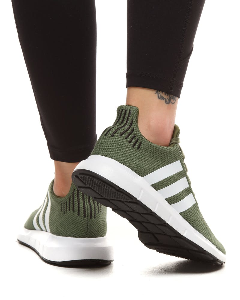 Adidas Women's Swift Run Green/White