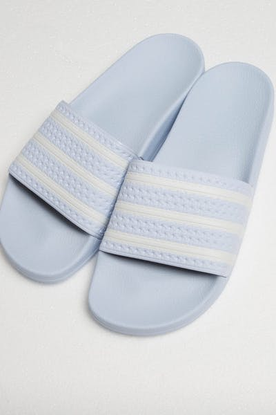 Adidas Adilette Light Blue/White