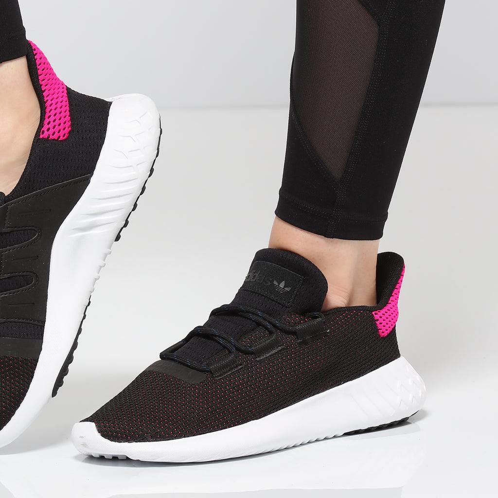 Adidas Women's Tubular Dusk Black/White/Pink