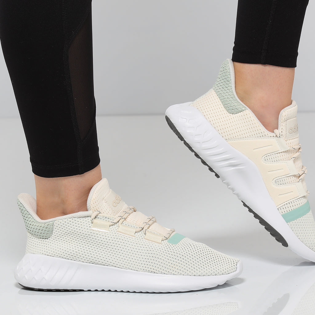 Adidas Women's Tubular Dusk Off White/White