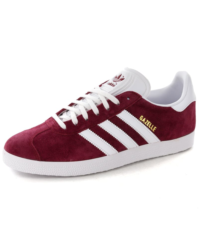 Adidas Gazelle Burgundy/White