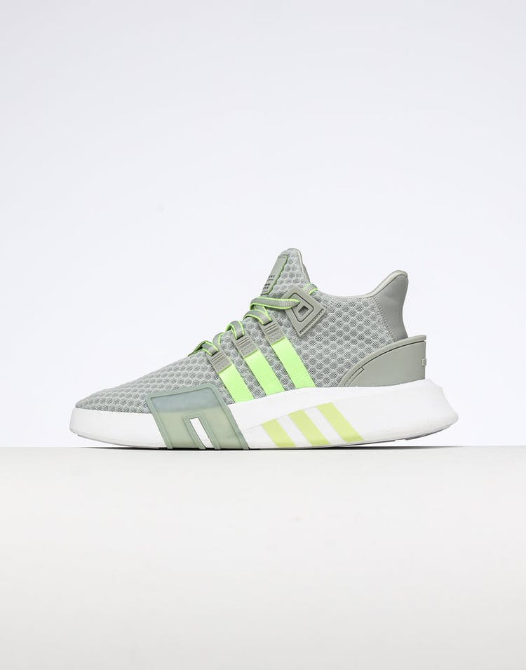 on sale dd00d 39de5 Adidas EQT Bask ADV Silver/Yellow/White