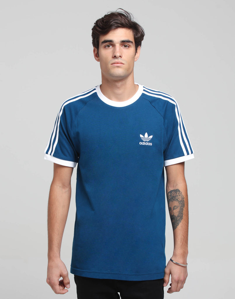 Adidas 3-Stripes Tee Marine Blue