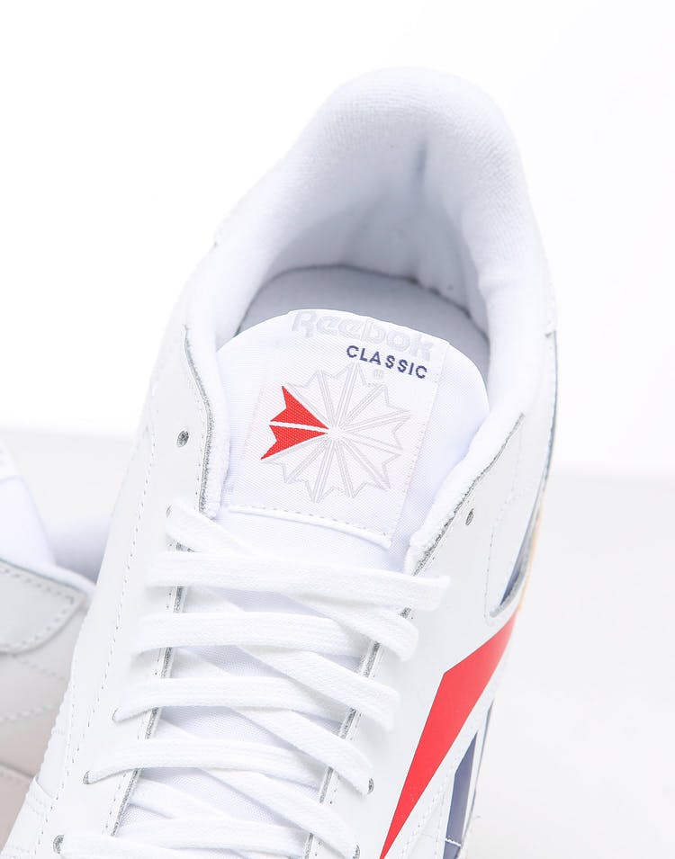 Reebok CL Leather Vector White/Scarlet/Gum