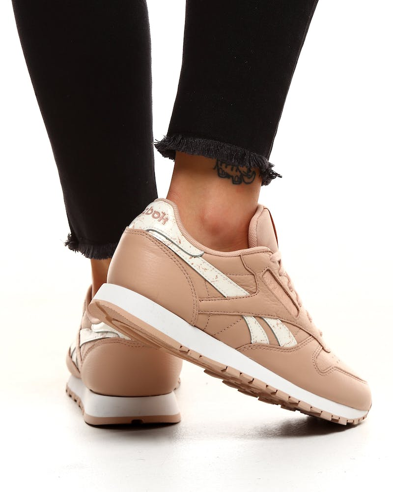Reebok Women's Classic Leather Beige
