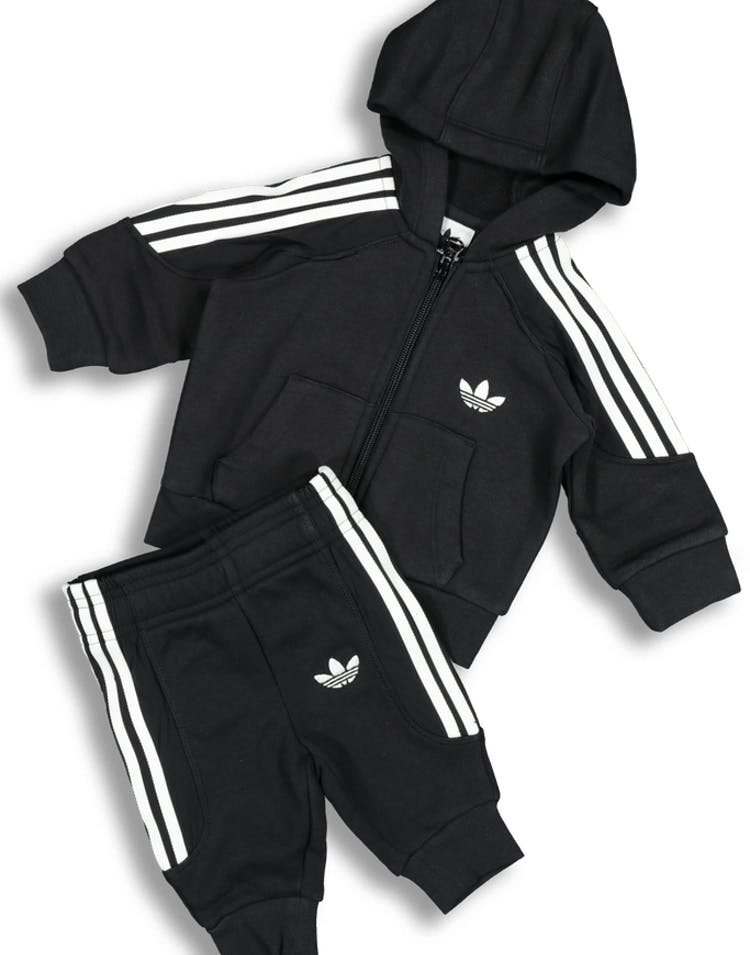 Adidas Kids Radkin Hoodie Set BlackWhite