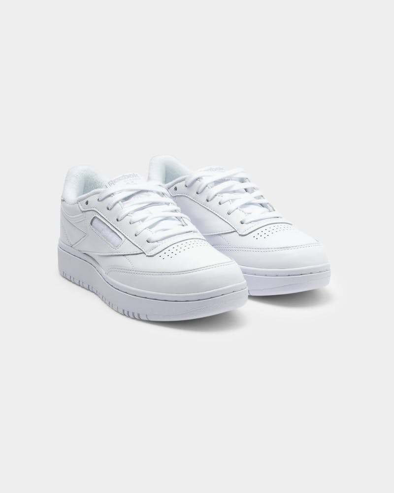Reebok Women's Club C Double White/White/Cdg
