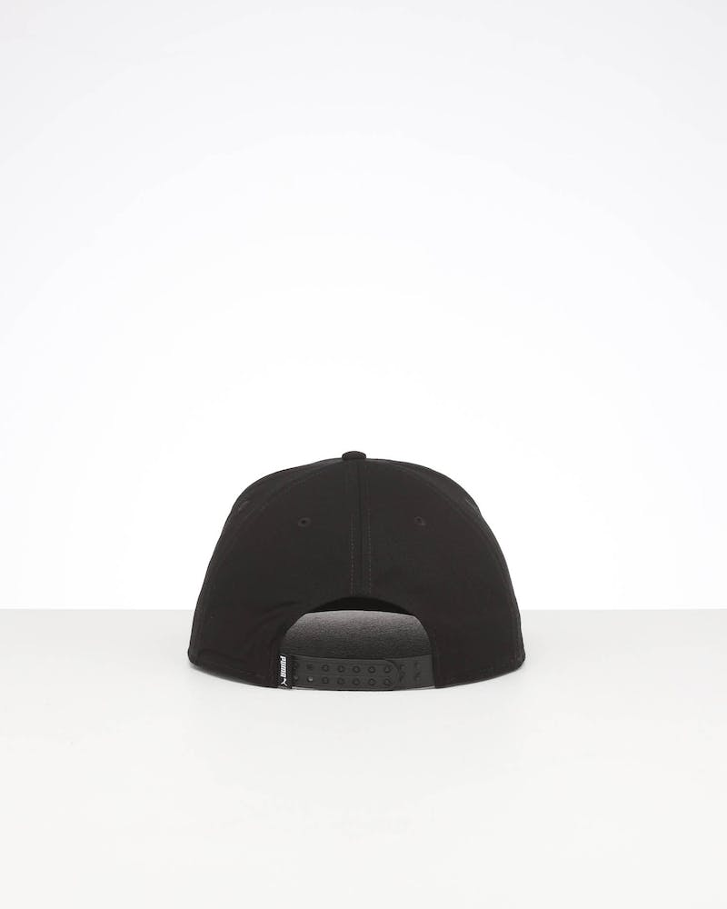 Puma Colourblock P Snapback Cap Black/White