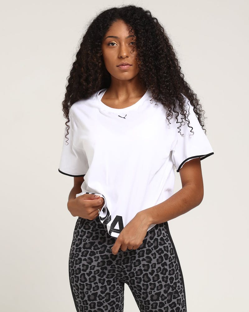 Puma Women's Chase Cotton Tee White