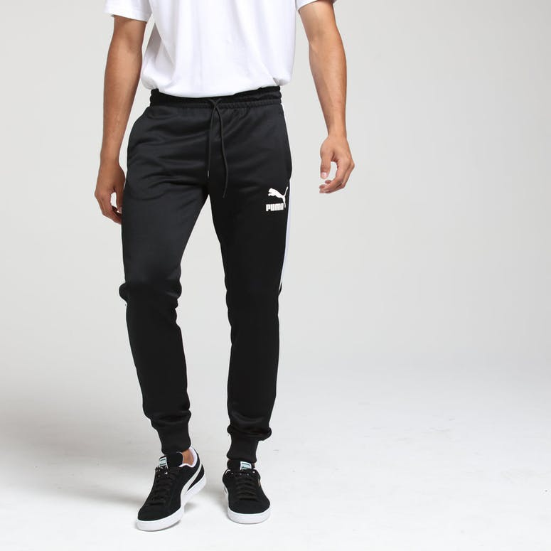 Puma Iconic T7 Track Pants Black