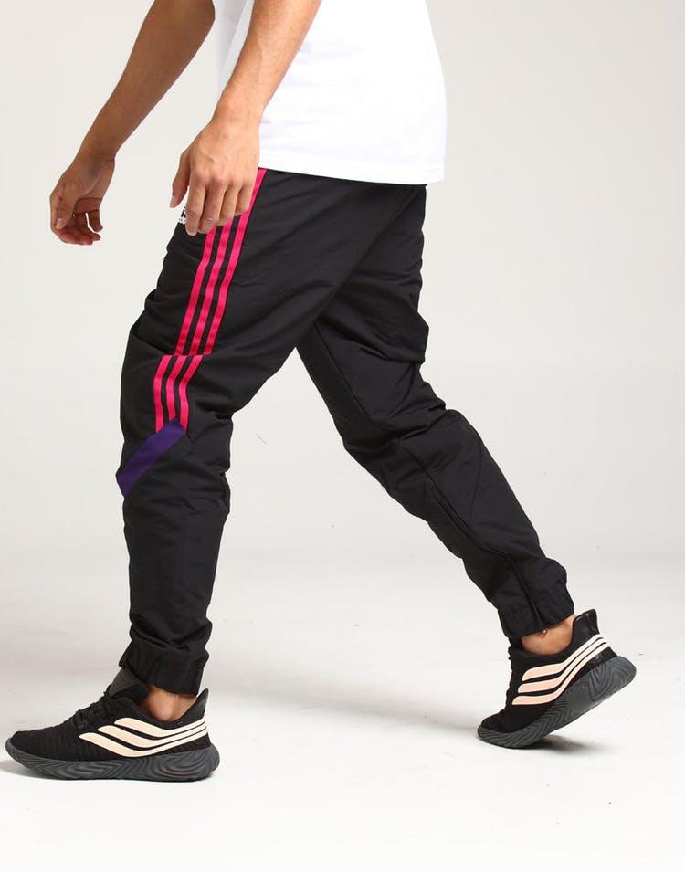 watch 1bd1d 22709 Adidas Sportive Track Pant Black/Purple/Pink