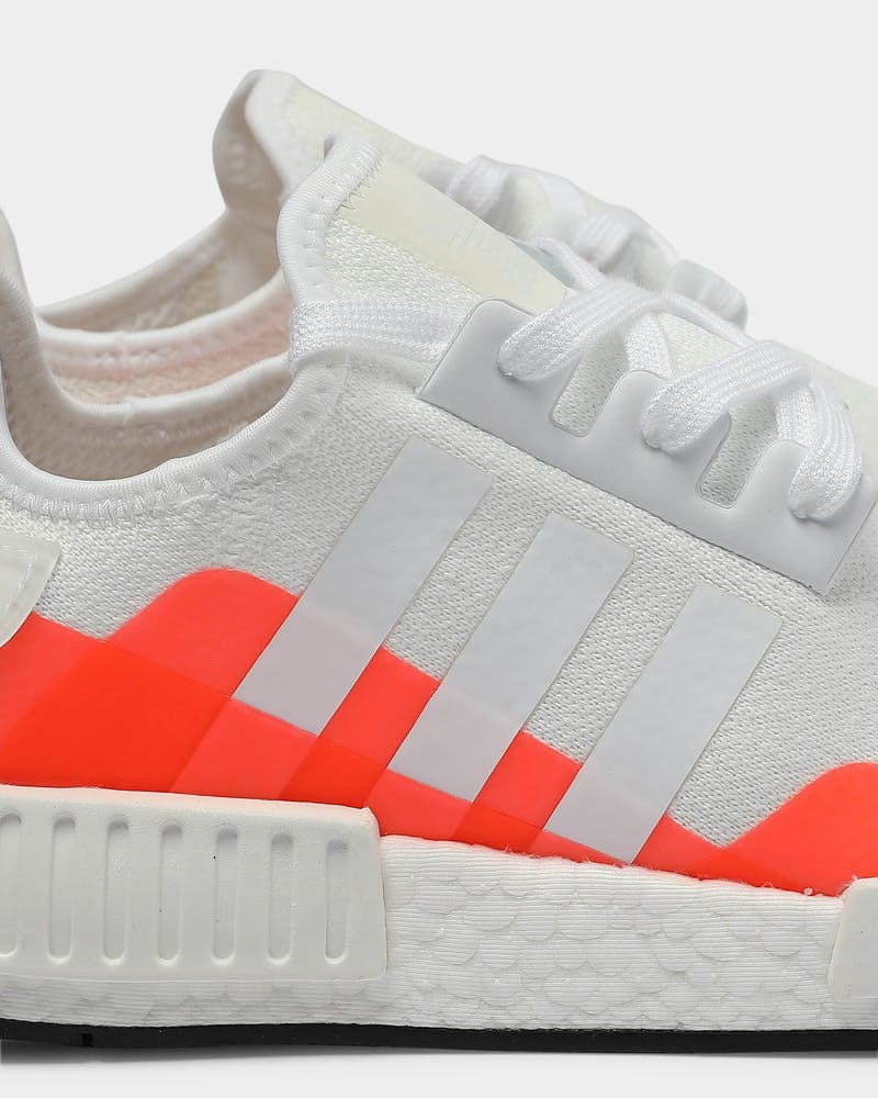 Adidas NMD_R1 White/White/Red