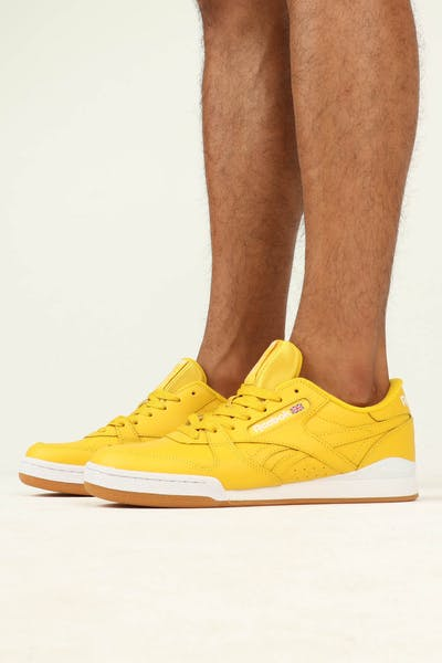 Reebok Phase 1 Pro MU Yellow/White/Gum