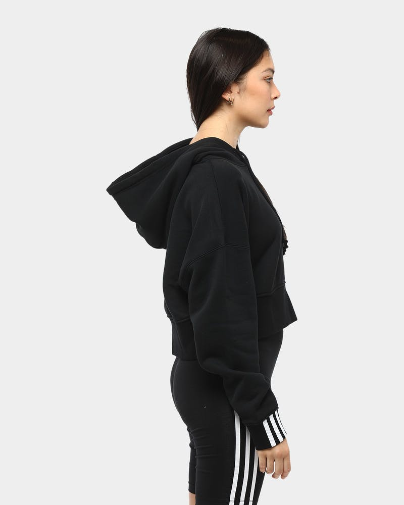 Adidas Women's Vocal Crop Hood Black