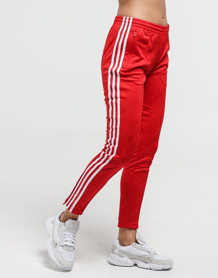 Adidas Women's SS Trackpant Scarlet