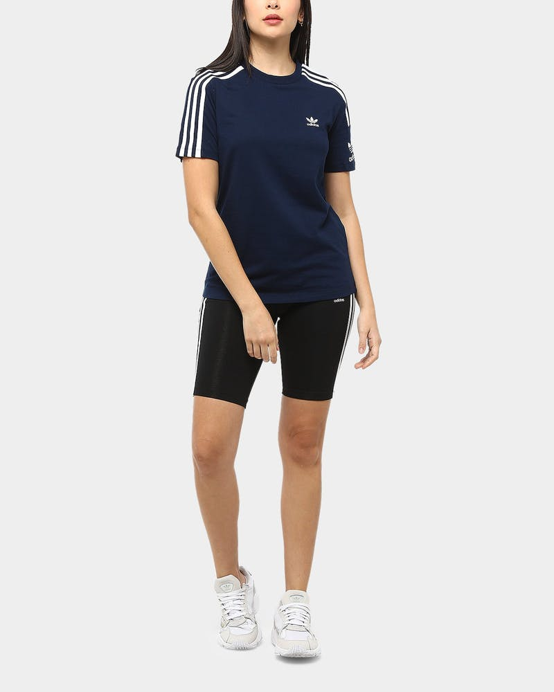 Adidas Women's Lock Up Tee Navy