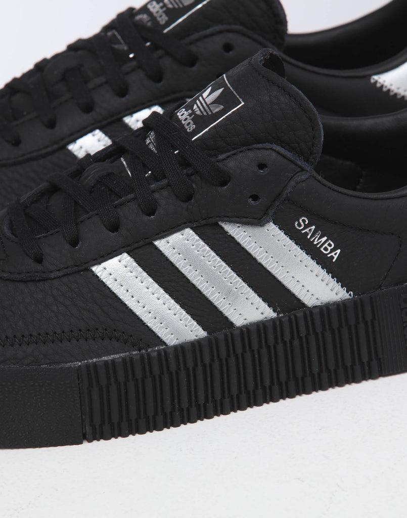 adidas Originals Sambarose W Damen Sneaker schwarz silber EE4682