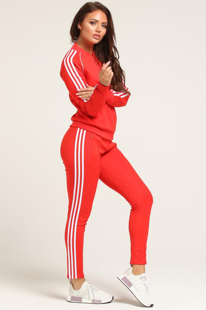 adidas rose gold tracksuit