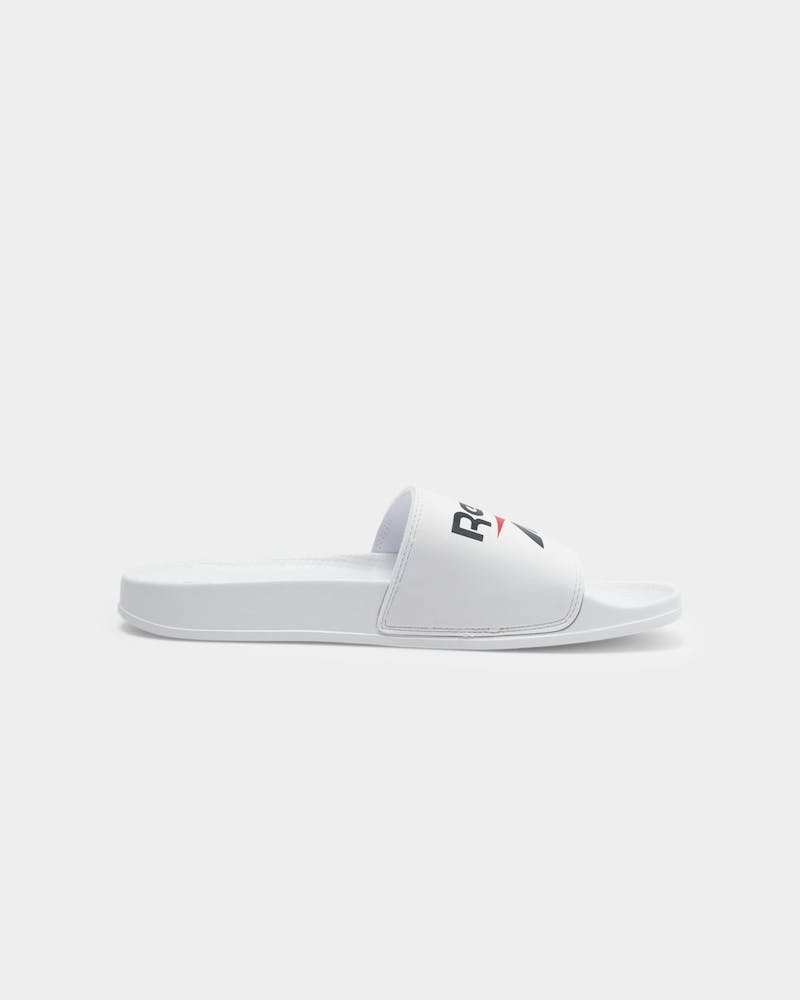 Reebok Fulgere Slide White/Vector Navy/Vector Red