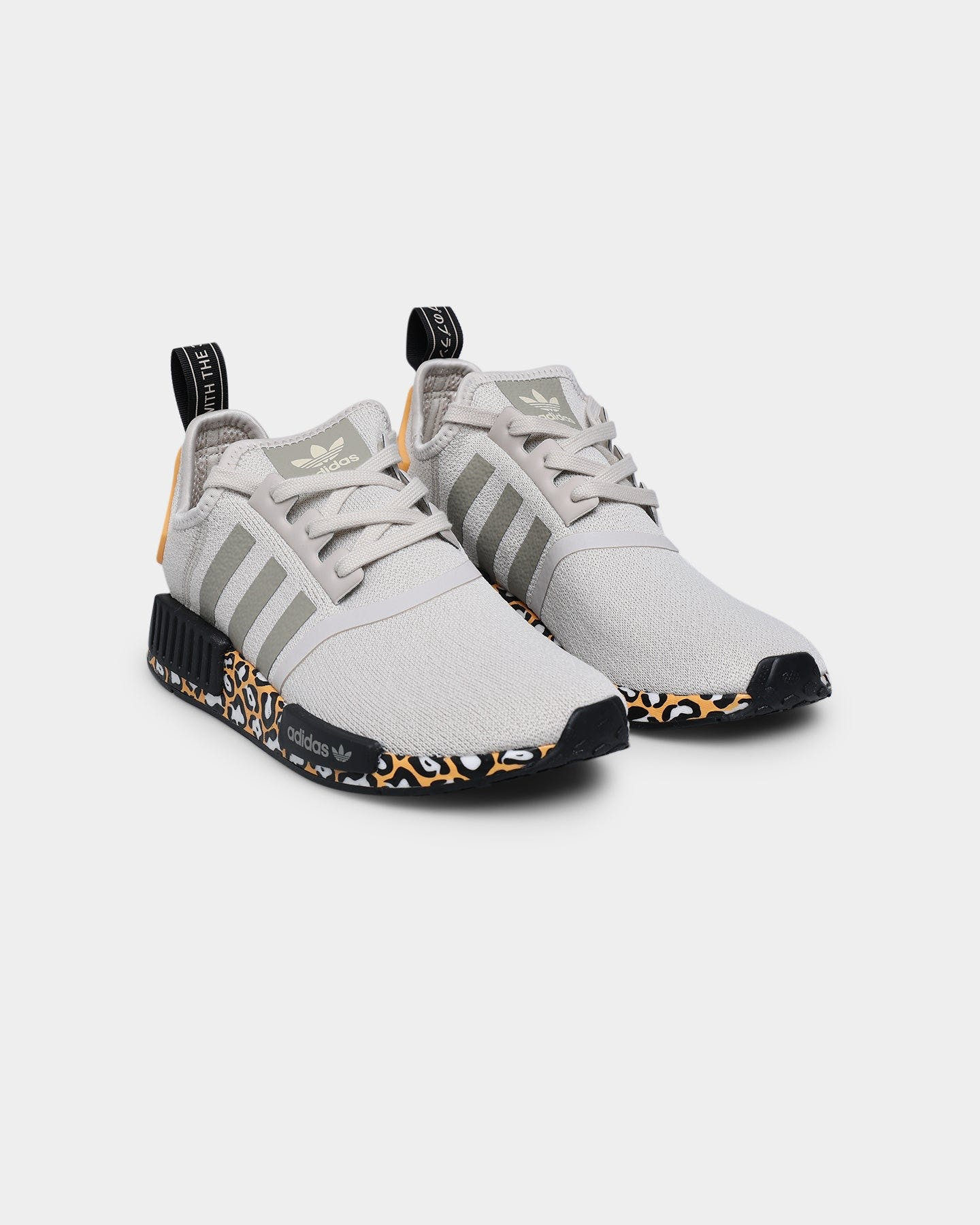 ADIDAS NMD_R1 Womens Nude & White Shoes - NUDE - FW6431