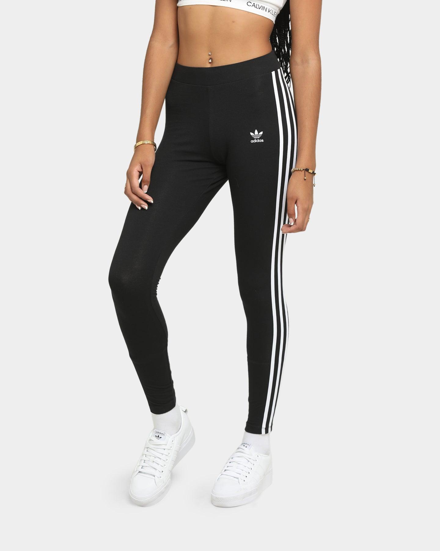 Adidas 3 Stripe Tight Black | Culture