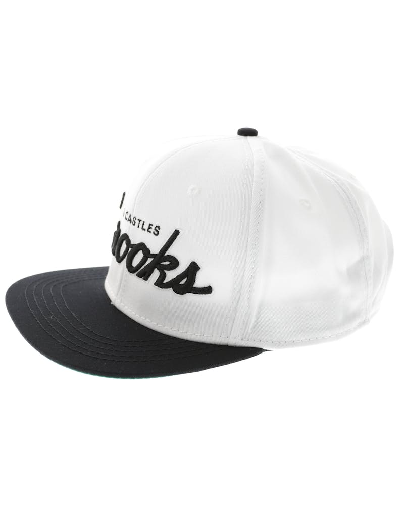 Team Crooks Snapback White/black