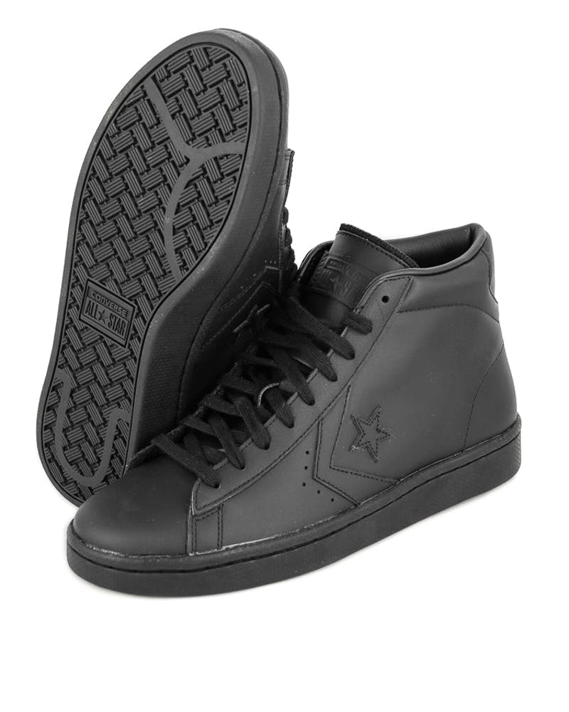 Converse Pro Leather '76 HI Black/black