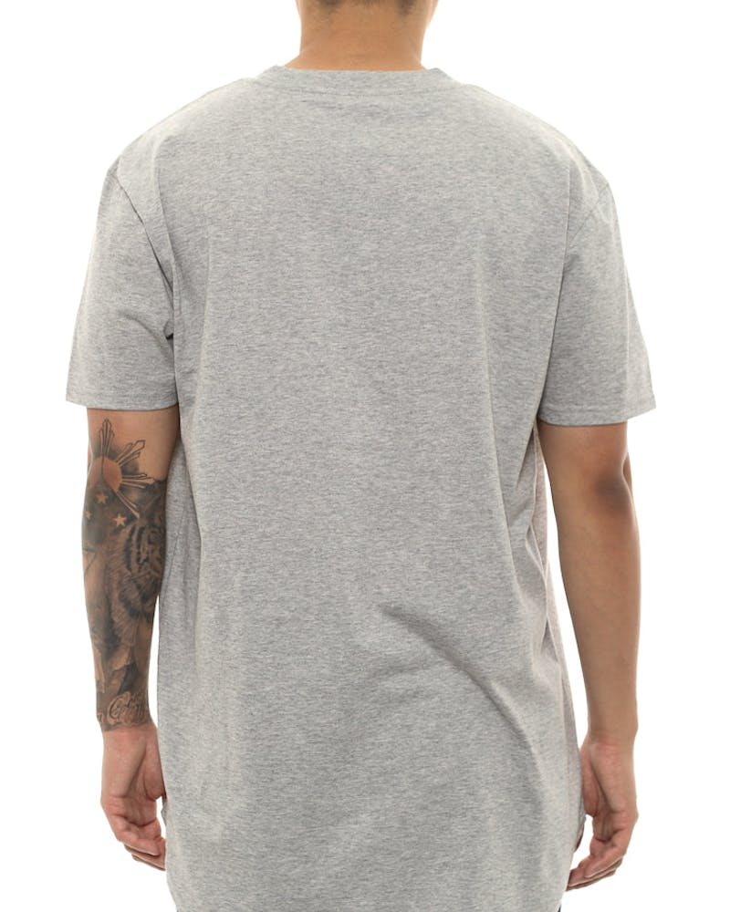 Cocaine & Caviar Scallop Tee Grey
