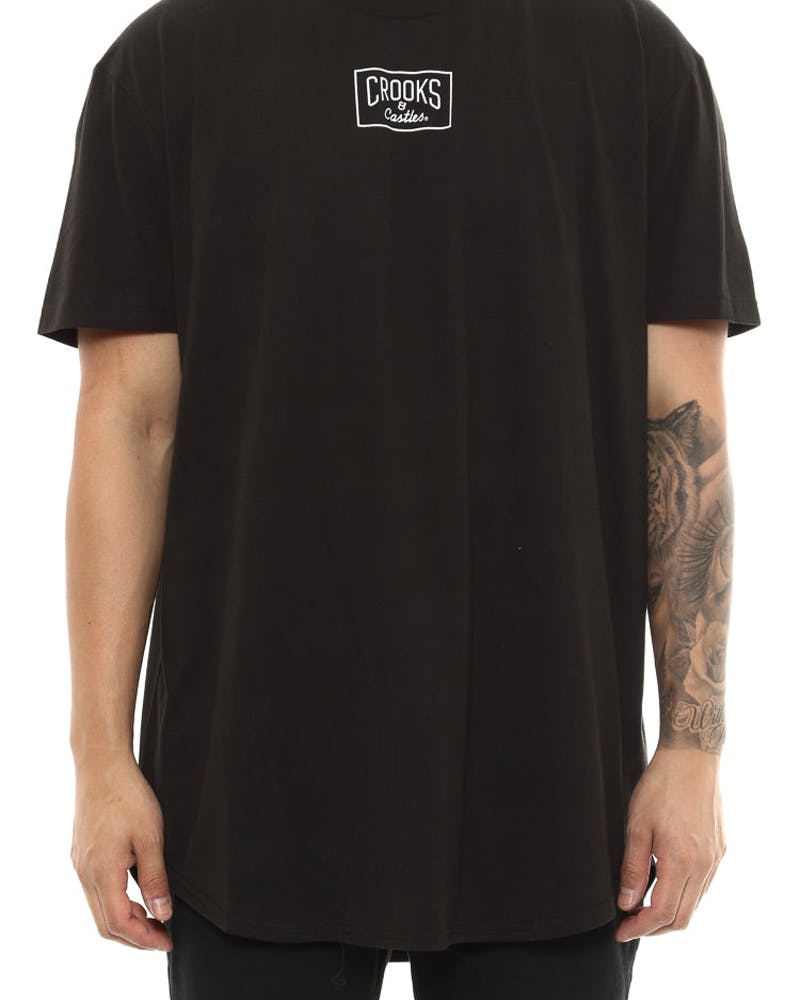 Criminology 101 Scallop Tee Black