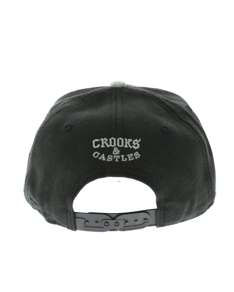 Cocaine & Caviar Snapback Black/charcoal
