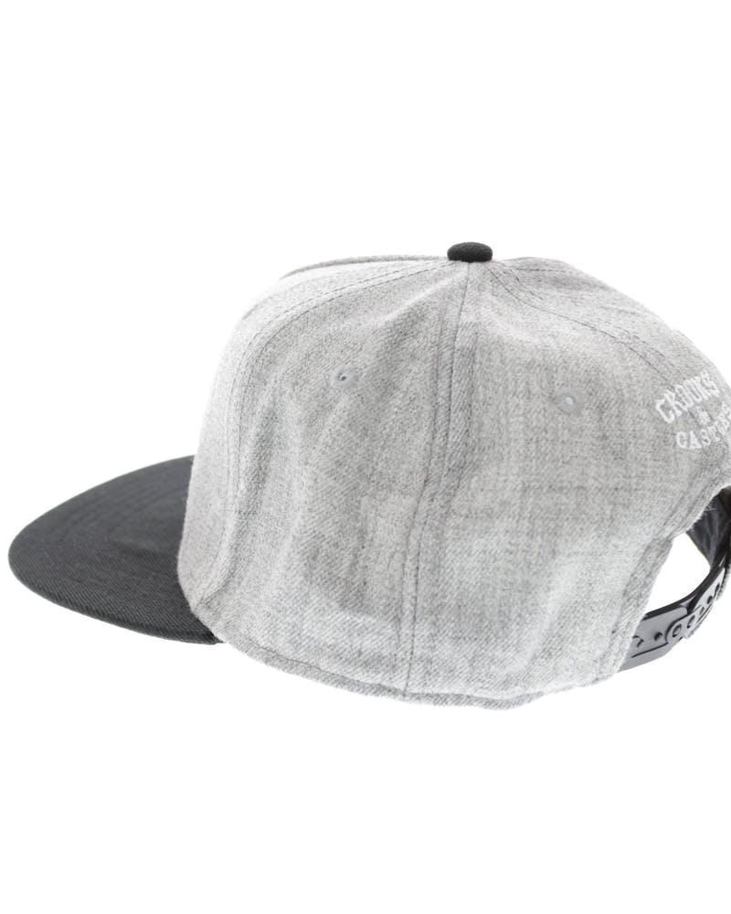 Cocaine & Caviar Snapback Grey/black